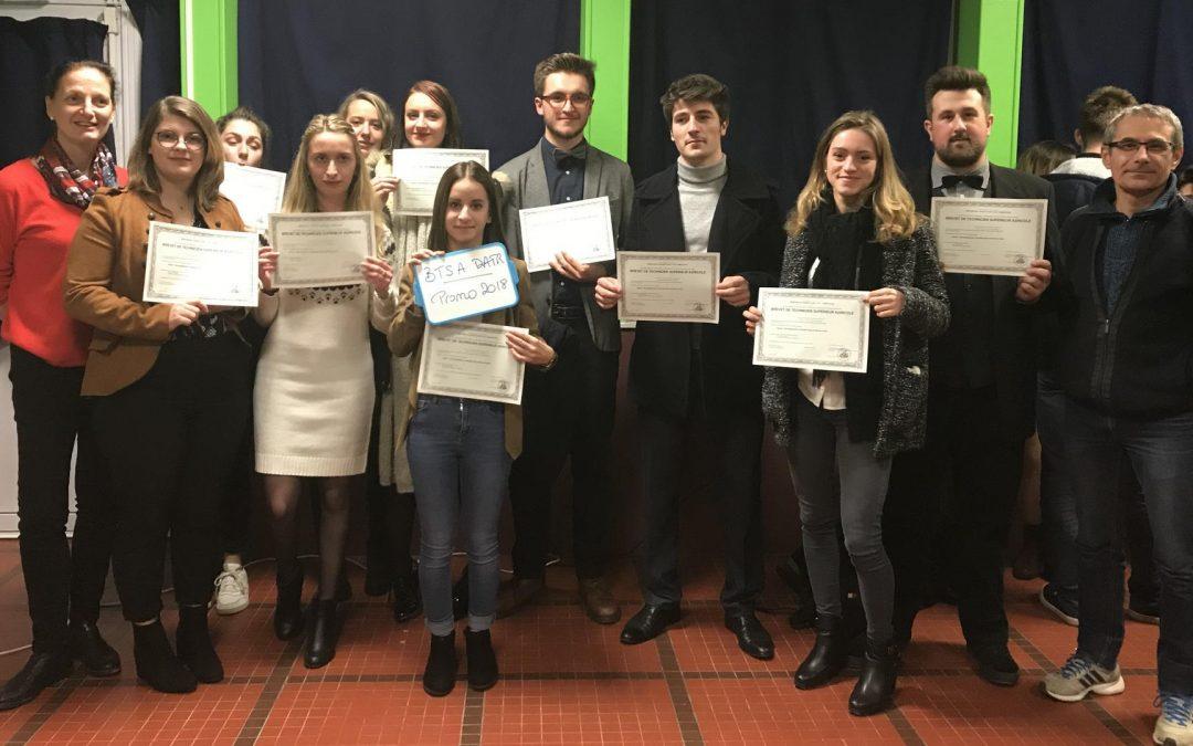 Palmarès des lycées agricoles : n°1 pour le BTSA DATR du Roc Fleuri !